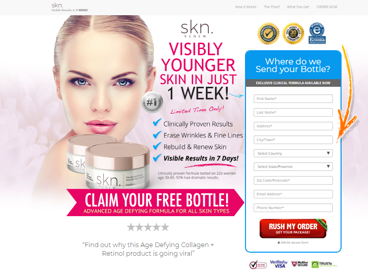 SKN Renew anti aging Cream