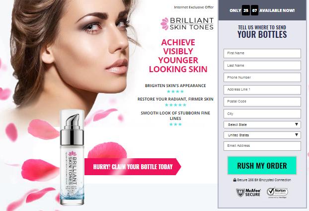 Skin Tones Serum official website