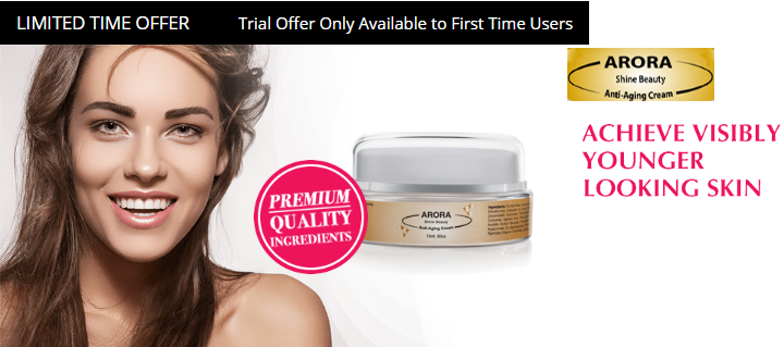 Arora Shine Beauty Cream trial offer