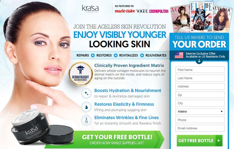 Krasa Cream official website