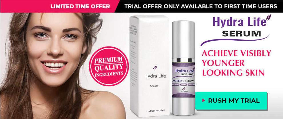 Hydra Life Serum official page