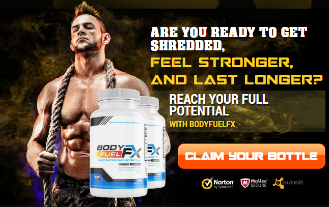 Body Fuel FX Claim your Bottle