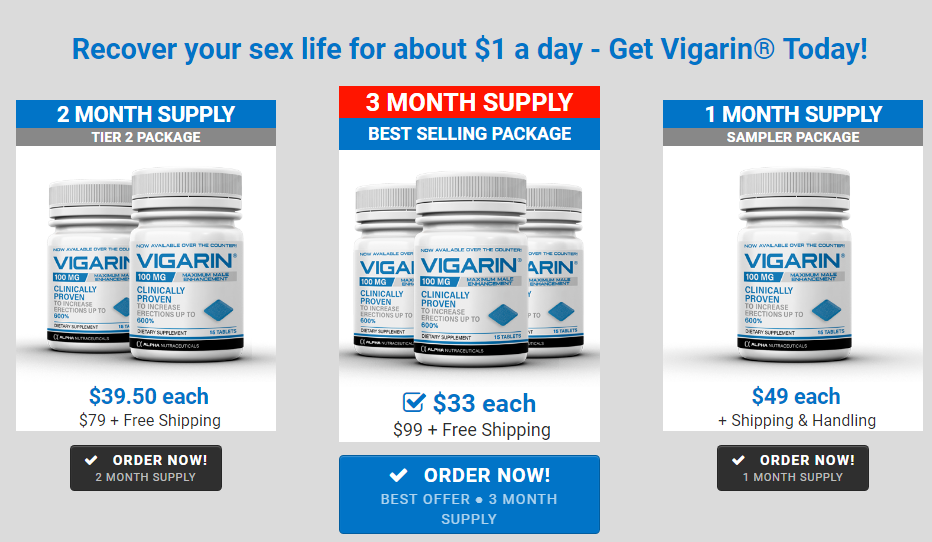 Vigarin Male Enhancement Offer