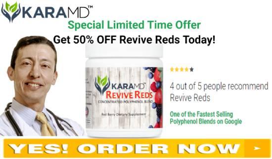 KaraMD Revive Reds order now