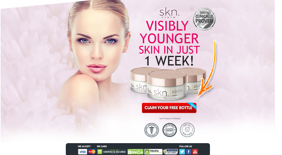 SKN Renew Cream order