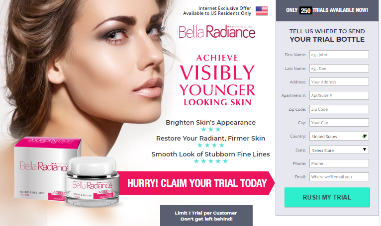 Bella Radiance Cream official website