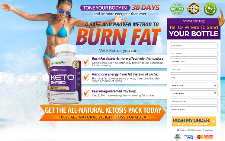 Keto Shred weight loss supplement