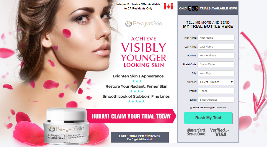 Skin Cream official trial