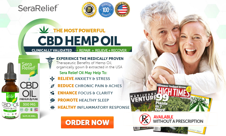 Sera Relief cbd oil Order Here
