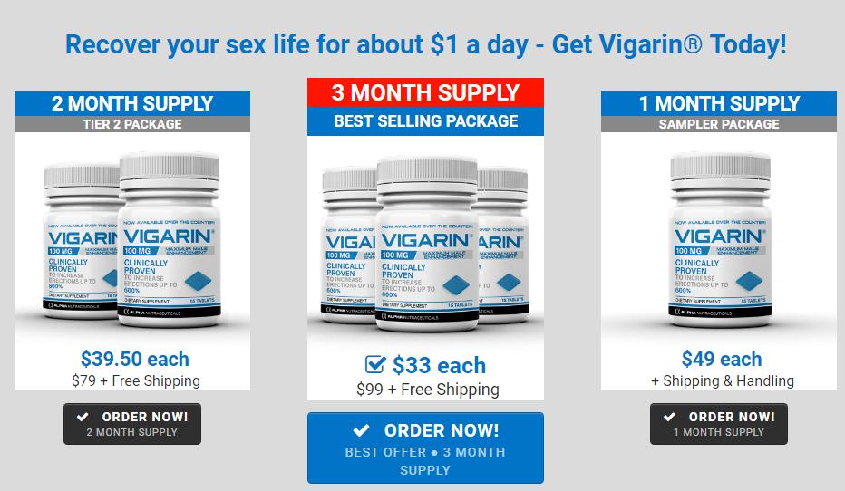 Vigarin Male Enhancement Offer