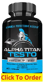 Alpha Titan Testo Male Enhancement Pills