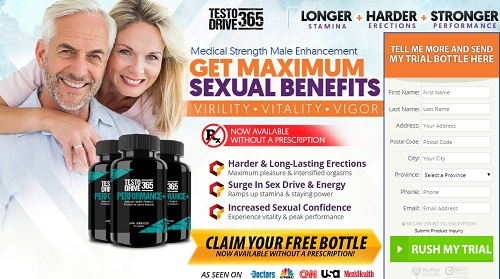 Testo Drive 365 Male enhancement
